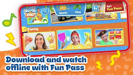 Vlad and Niki – games & videos - عکس برنامه موبایلی اندروید