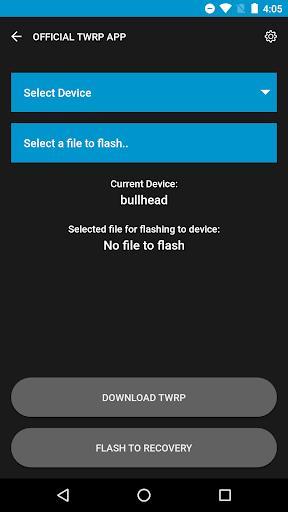 Official TWRP App - عکس برنامه موبایلی اندروید