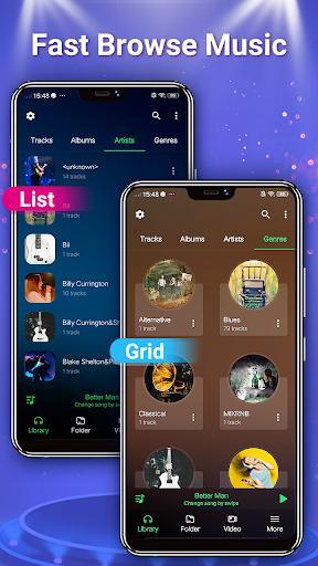 Music Player - MP3 Player & Audio Player - عکس برنامه موبایلی اندروید