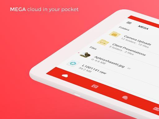 MEGA - عکس برنامه موبایلی اندروید