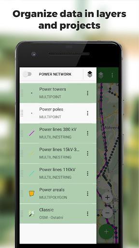 Locus GIS - offline geodata collecting, SHP edits - عکس برنامه موبایلی اندروید