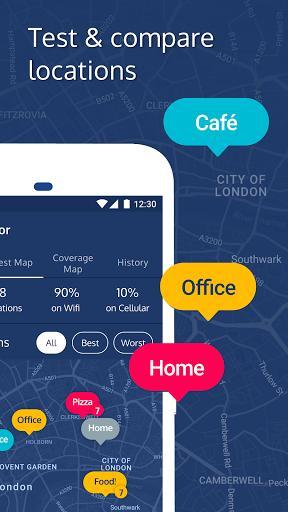 Meteor: Free Internet Speed & App Performance Test - عکس برنامه موبایلی اندروید