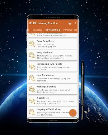 IELTS Listening Practice - English Listening - عکس برنامه موبایلی اندروید