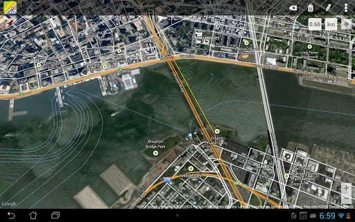 Maps Ruler - عکس برنامه موبایلی اندروید