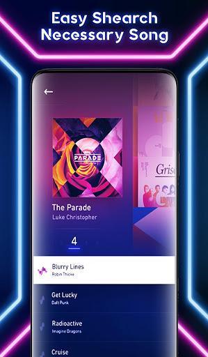 Music Player Galaxy S10 S20 Ultra Free Music - عکس برنامه موبایلی اندروید