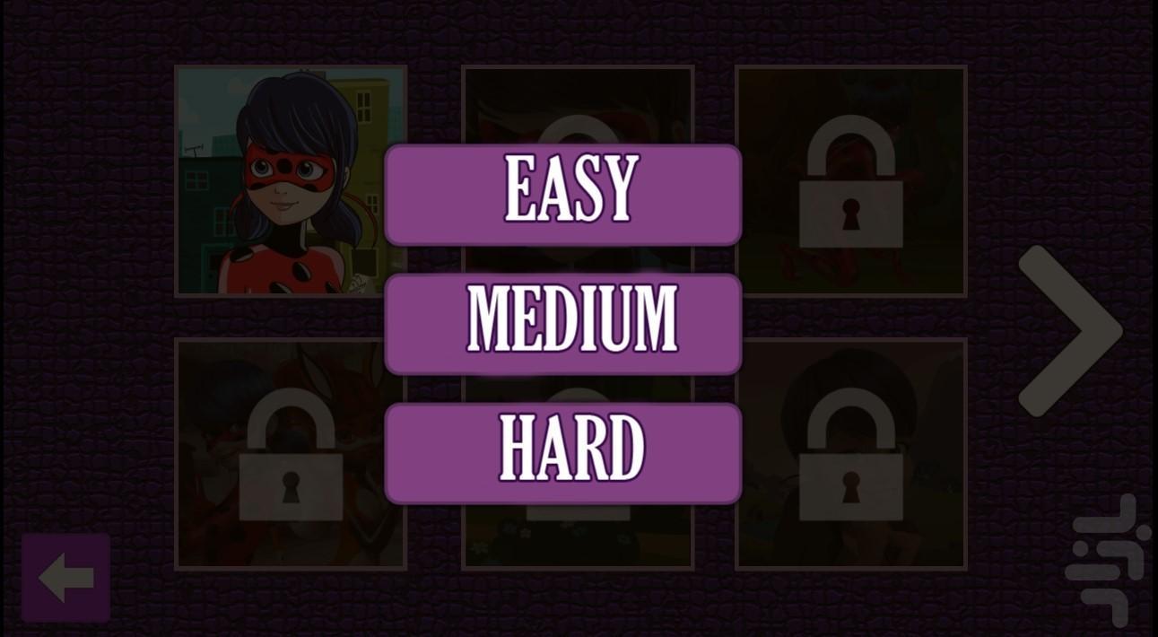 پازل دختر کفشدوزکی - عکس بازی موبایلی اندروید