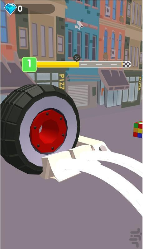 لاستیک نابودگر - عکس بازی موبایلی اندروید