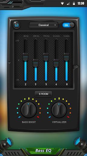 Equalizer & Bass Booster - عکس برنامه موبایلی اندروید