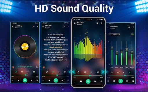 Music Player & Audio Player - عکس برنامه موبایلی اندروید