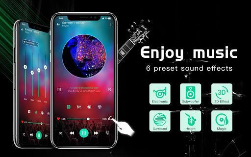 Music player & Video player with equalizer – پخش موسیقی و ویدیو - عکس برنامه موبایلی اندروید