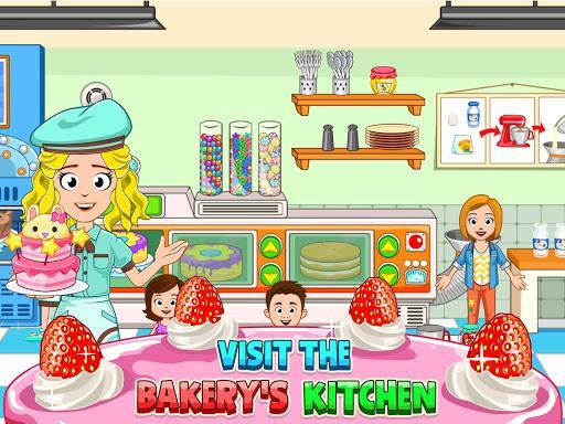 My Town : Bakery  - آشپزی کودکانه - عکس بازی موبایلی اندروید