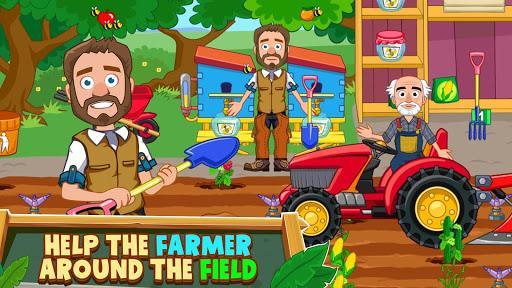 My Town: Farm Life - Animals & Farming Doll House - عکس بازی موبایلی اندروید