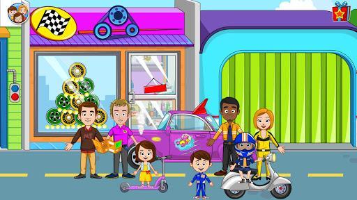 My Town: Car Repair - Garage & Mechanic Workshop - عکس بازی موبایلی اندروید