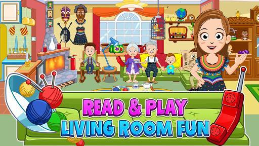 My Town : Grandparents Play home Fun Life Game – خانهی پدربزرگ و مادربزرگ - عکس بازی موبایلی اندروید