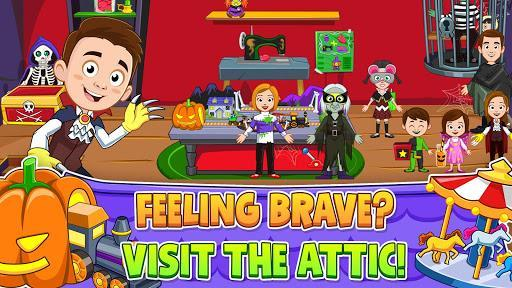 My Town : Haunted House - Scary Game for Kids 👻 - عکس بازی موبایلی اندروید