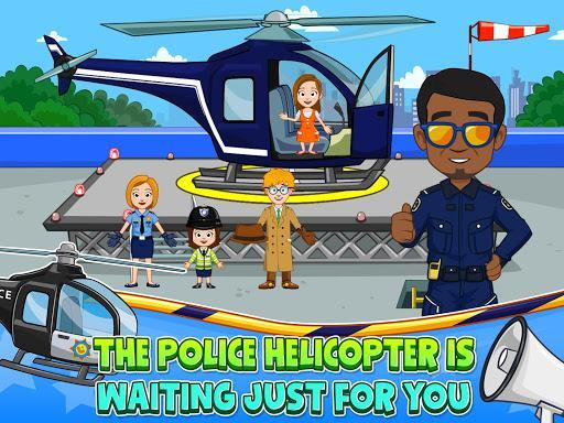 My Town : Police Station. Policeman Game for Kids - عکس بازی موبایلی اندروید