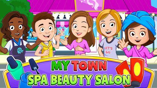 My Town: Hair Salon & Beauty Spa Game for Girls ❤️ - عکس بازی موبایلی اندروید