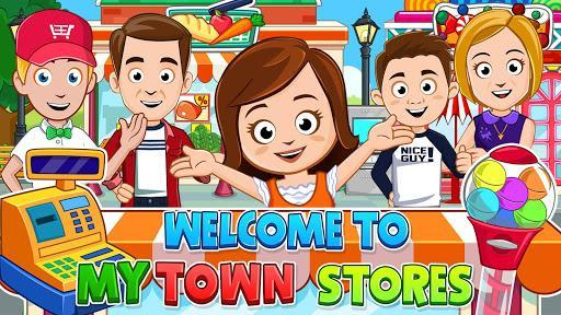My Town: Stores - Doll house & Dress up Girls Game - عکس بازی موبایلی اندروید