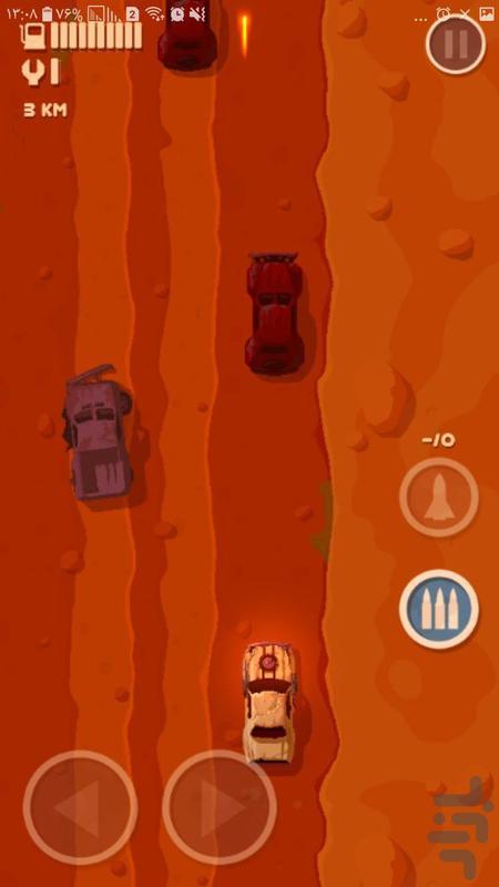 ماشین جنگی - عکس بازی موبایلی اندروید