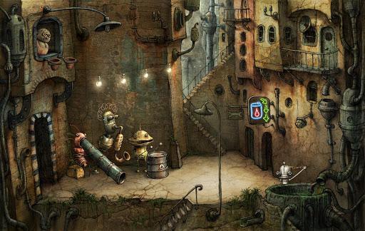 Machinarium Demo - عکس بازی موبایلی اندروید