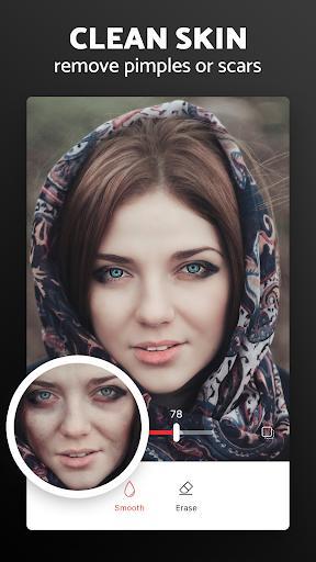 Pixl - Face Retouch & Blemish Remover Photo Editor - عکس برنامه موبایلی اندروید
