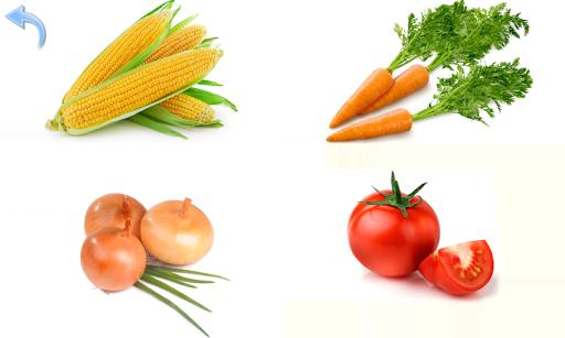Fruits and Vegetables for Kids - عکس برنامه موبایلی اندروید