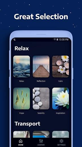 Sleep Sounds - عکس برنامه موبایلی اندروید
