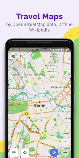 OsmAnd — Offline Maps, Travel & Navigation - Image screenshot of android app