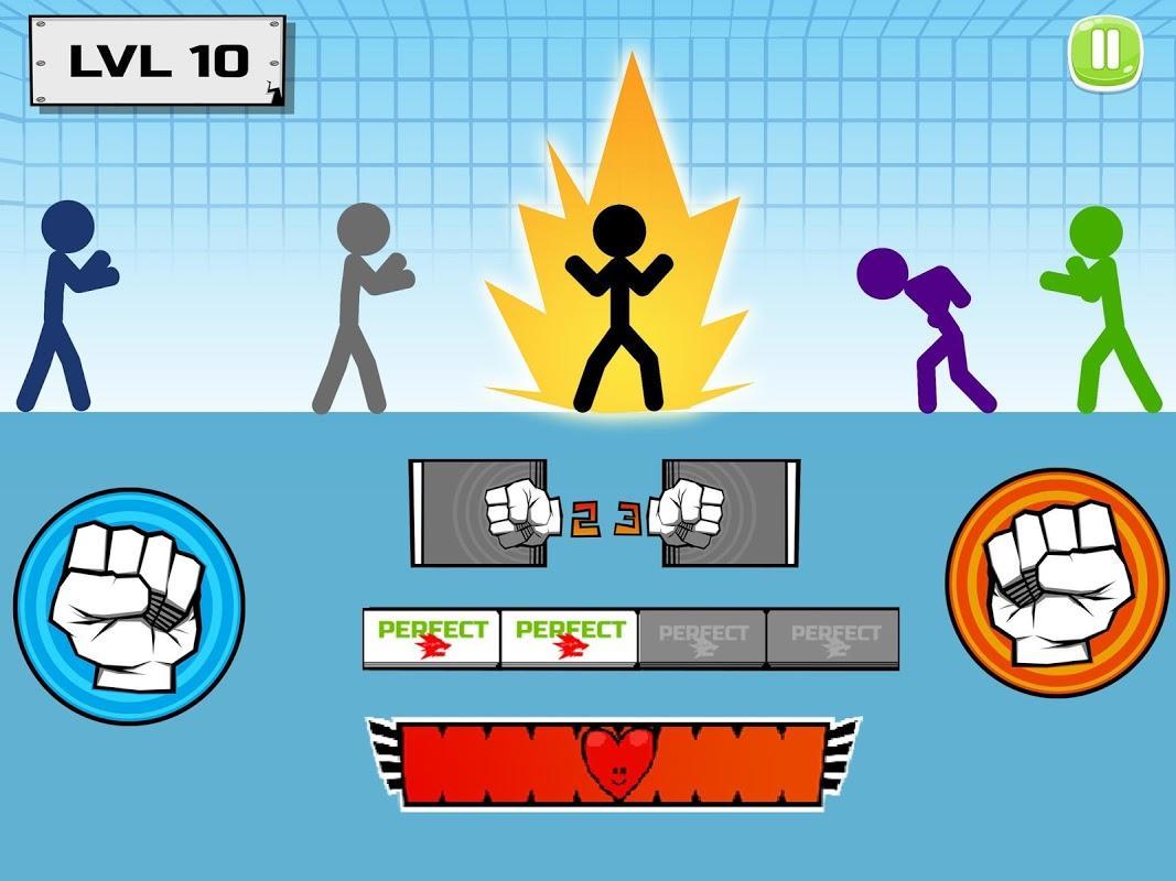 Stickman fighter : Epic battle – نبرد آدمکها - عکس بازی موبایلی اندروید