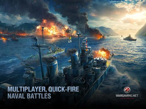 World of Warships Blitz - نبرد ناوهای جنگی بلیتز - عکس بازی موبایلی اندروید