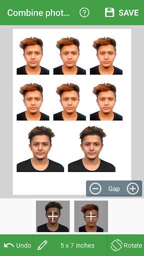 Passport Photo Maker – VISA/Passport Photo Editor - Image screenshot of android app