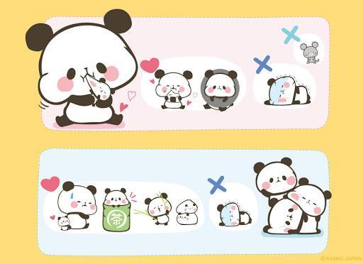 Battery Saver Mochimochi Panda Battery Widget - عکس برنامه موبایلی اندروید
