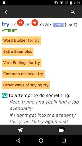 Cambridge Advanced Learner's Dictionary, 4th ed. - عکس برنامه موبایلی اندروید