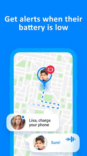 Find My Kids: Child Cell Phone Location Tracker - عکس برنامه موبایلی اندروید