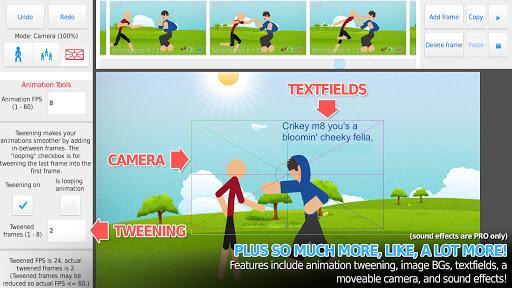 Stick Nodes: Stickman Animator - عکس برنامه موبایلی اندروید