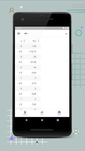 GeoGebra Graphing Calculator - عکس برنامه موبایلی اندروید