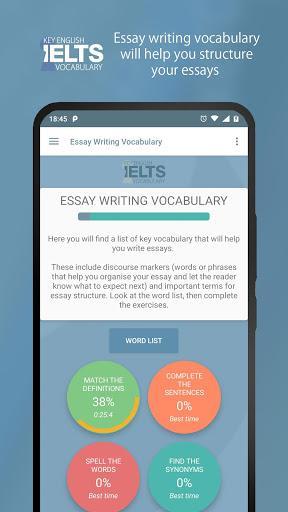 Key English | IELTS Vocabulary - عکس برنامه موبایلی اندروید