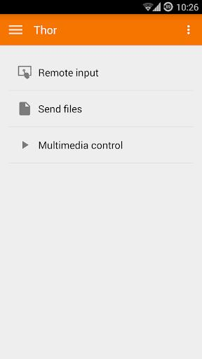 KDE Connect - عکس برنامه موبایلی اندروید