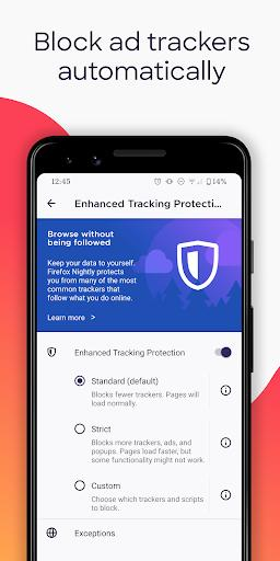 Firefox Browser: fast, private & safe web browser - Image screenshot of android app