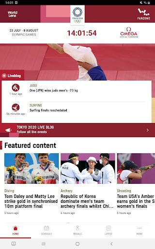 Olympics – المپیک ۲۰۲۰ - عکس برنامه موبایلی اندروید