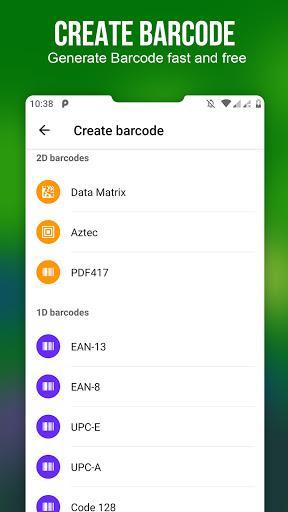 QR Code - Barcode - عکس برنامه موبایلی اندروید