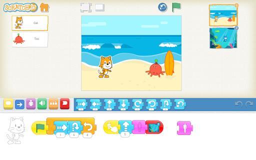 ScratchJr - عکس برنامه موبایلی اندروید