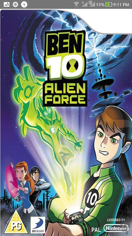 بازی اکشن:Ben10 Alien Force+آموزش - عکس بازی موبایلی اندروید