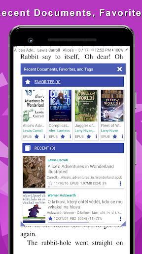 PDF Reader - عکس برنامه موبایلی اندروید