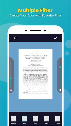 CS Scanner- Free PDF, Kagaz, & Documents Scanner - عکس برنامه موبایلی اندروید