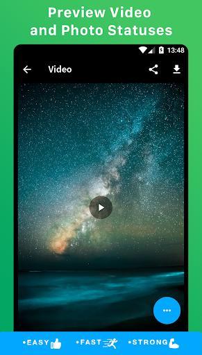 Status Downloader for WhatsApp - عکس برنامه موبایلی اندروید