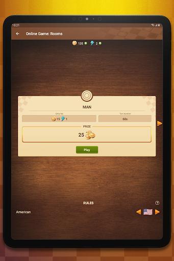 Checkers Online - عکس بازی موبایلی اندروید