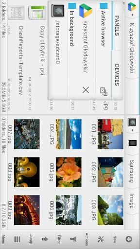 Solid Explorer Classic - عکس برنامه موبایلی اندروید