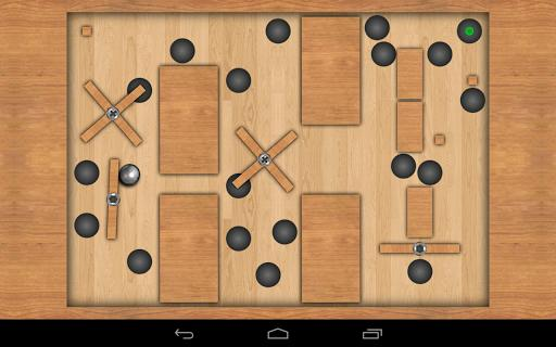 Teeter Pro - free maze game - Gameplay image of android game