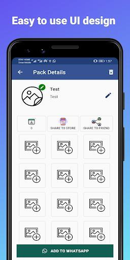 Stickers Maker - عکس برنامه موبایلی اندروید